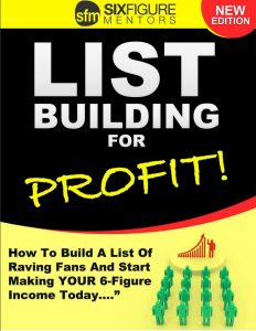 Picture of cover of the list build for profit report