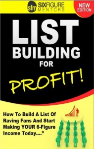 Cover of document List Building for Profit Cover